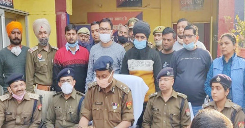Image result for Jagdev Singh Jagga found in Lucknow