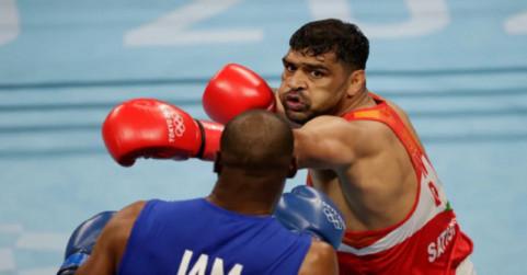 मुक्केबाज सतीश कुमार के चेहरे पर लगे 7 टांके, रविवार को होगा क्वाटर फाइनल