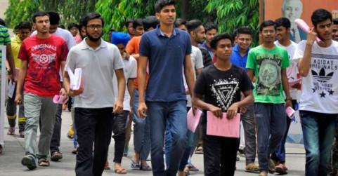 प्रवेश परीक्षा में 82 फीसदी परीक्षार्थी पहुंचे, नोएडा के इस सेंटर पर हुआ एग्जाम